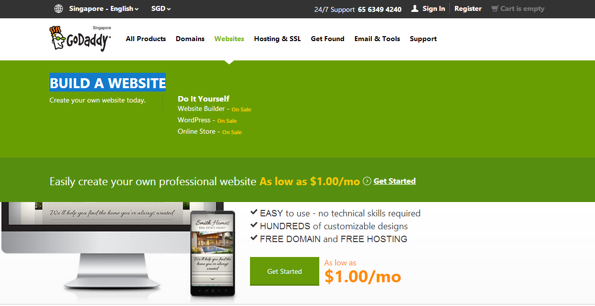 How To Create A Website Using Godaddy And Wordpress
